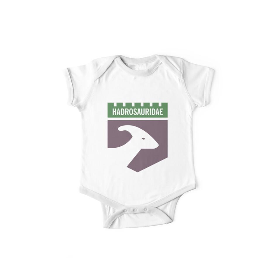 Dinosaur Family Crest: Hadrosauridae by David Orr