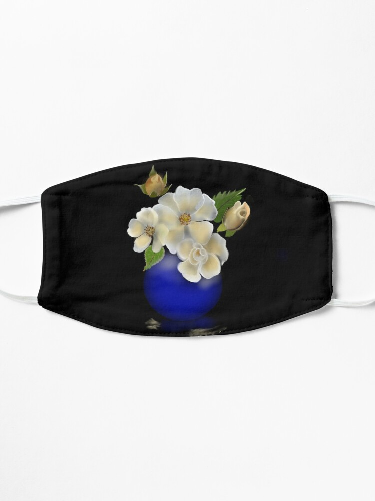Alternate view of Yellow Roses Mask