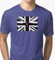 Black Britain Tri-blend T-Shirt