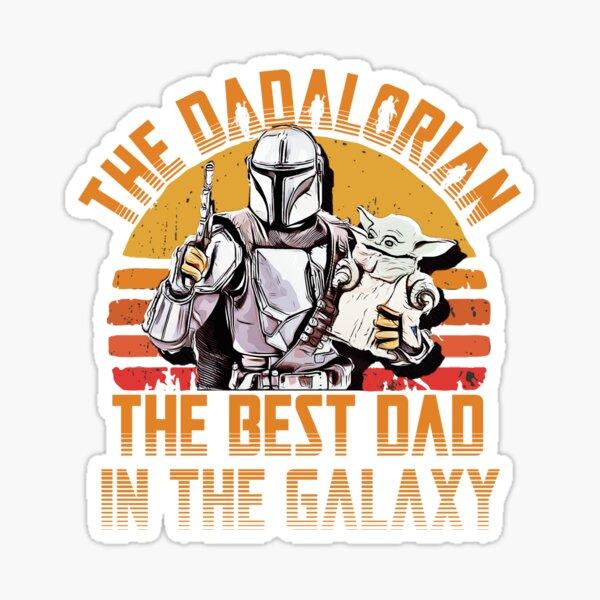 dadalorian Sticker