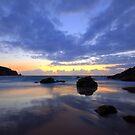Plemont Bay - Jersey  by Alicja Ludwikowska