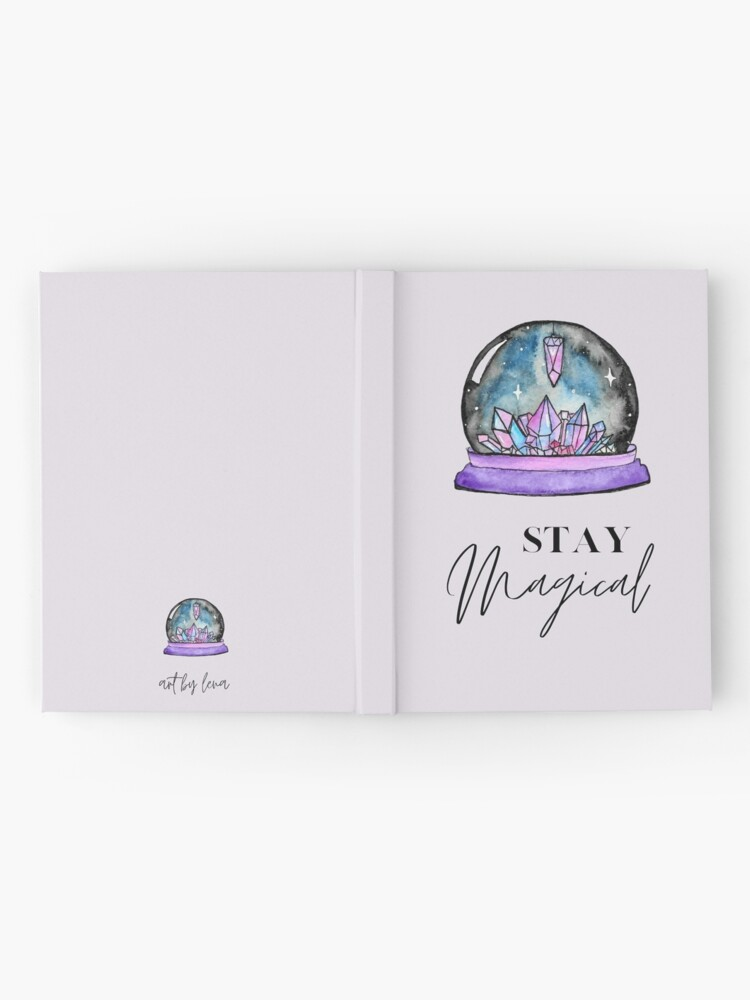 Alternate view of Crystal Ball Magic Hardcover Journal