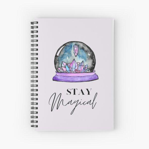 Crystal Ball Magic Spiral Notebook