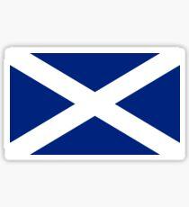 Pegatina Camiseta escocesa de Escocia con bandera de la independencia