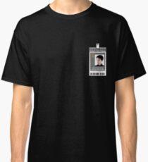 Torchwood Jack Harkness ID Shirt Classic T-Shirt