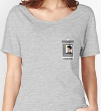 Torchwood Jack Harkness ID Shirt Women's Relaxed Fit T-Shirt