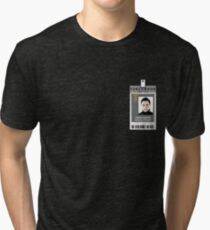 Torchwood Owen Harper ID Shirt Tri-blend T-Shirt