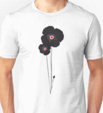 Black poppy / Coquelicot noir tee-shirt Unisex T-Shirt