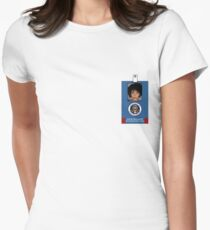Fringe Division Astrid Farnsworth Womens Fitted T-Shirt