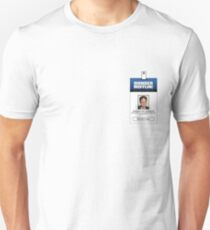 Dwight Schrute The Office ID Badge Shirt T-Shirt