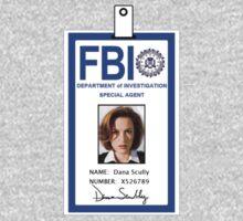 X-Files Dana Scully ID Badge Shirt | Women's T-Shirt