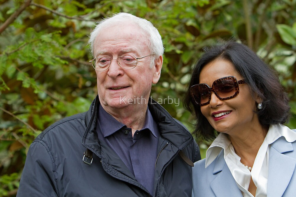 Sir Michael Caine at the RHS Chelsea Flower show 2012 by Keith Larby