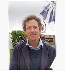 Monty Don at the RHS Hampton Court Palace flower show 2012 Poster