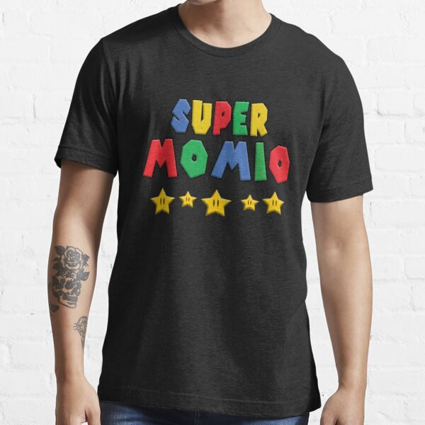 Super Momio, Cut Idea Gift For Mothers Day, Mom Gift Essential T-Shirt