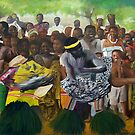 Togo Dancers by Lowell Smith