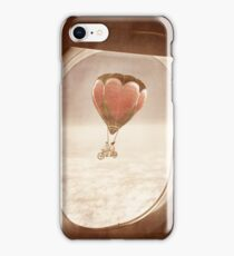 Saturday Dream - A Plane with a View iPhone Case/Skin