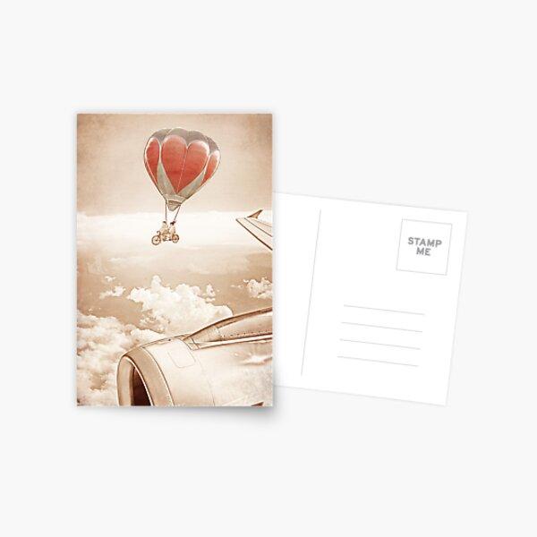 Wednesday Dream - Chasing Planes Postcard