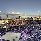 Olympic Beach Volleyball Arena by Victoria limerick