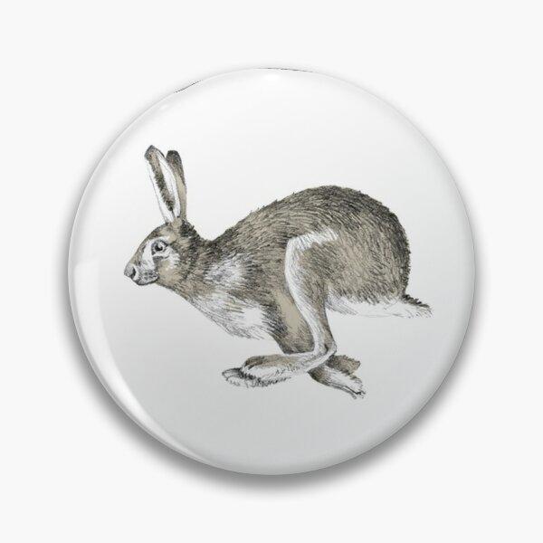 Running Hare Pin