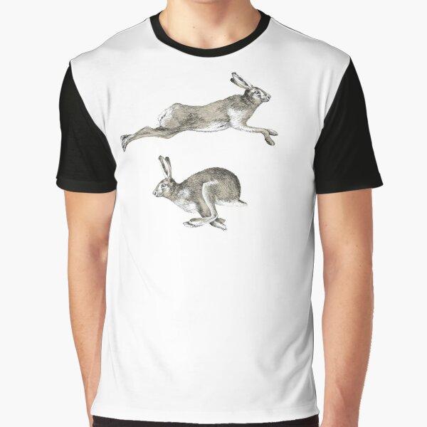 Running Hare Graphic T-Shirt