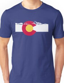 Colorado mountains Unisex T-Shirt