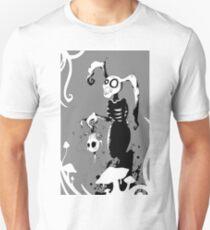 A white rabbits dream. Unisex T-Shirt
