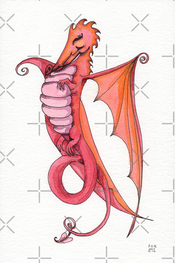 Fire Dragon by Amy-Elyse Neer