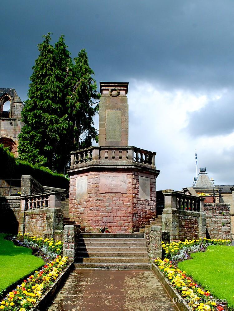 War Memorial, Jedburgh, Scotland by Dorothy Thomson