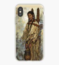 Kiowa Cradleboard, Kiowa, Native American Art, James Ayers Studios iPhone Case