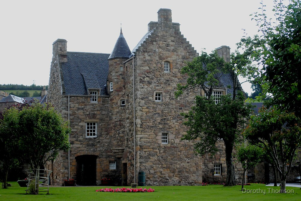Mary, Queen of Scots House, Jedburgh, Scotland by Dorothy Thomson