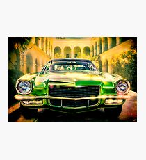 California 1970 Camaro Photographic Print