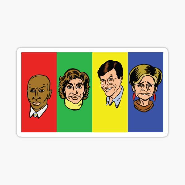 Strangers with Candy Sticker