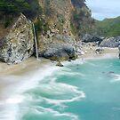 McWay Falls, Julia Pfeiffer State Park, Big Sur, California by Pete Paul