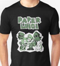 Paper Luigi Unisex T-Shirt