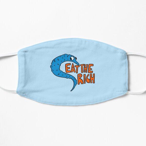 Eat The Rich! [BLUE] Flat Mask