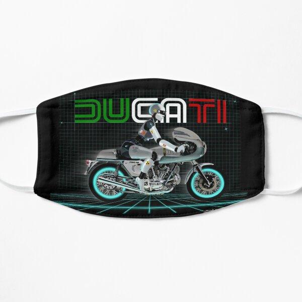 Ducati 750 Super Sport Mascarilla plana