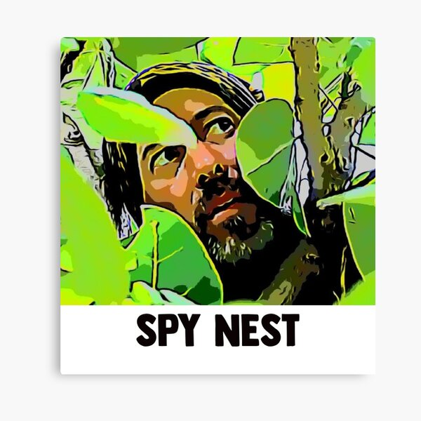SPY NEST Tony Vlachos - Survivor Winners at War Canvas Print