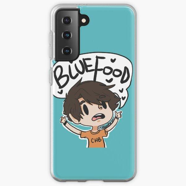BLUE FOOD Samsung Galaxy Soft Case