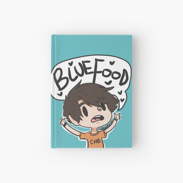 BLUE FOOD Hardcover Journal
