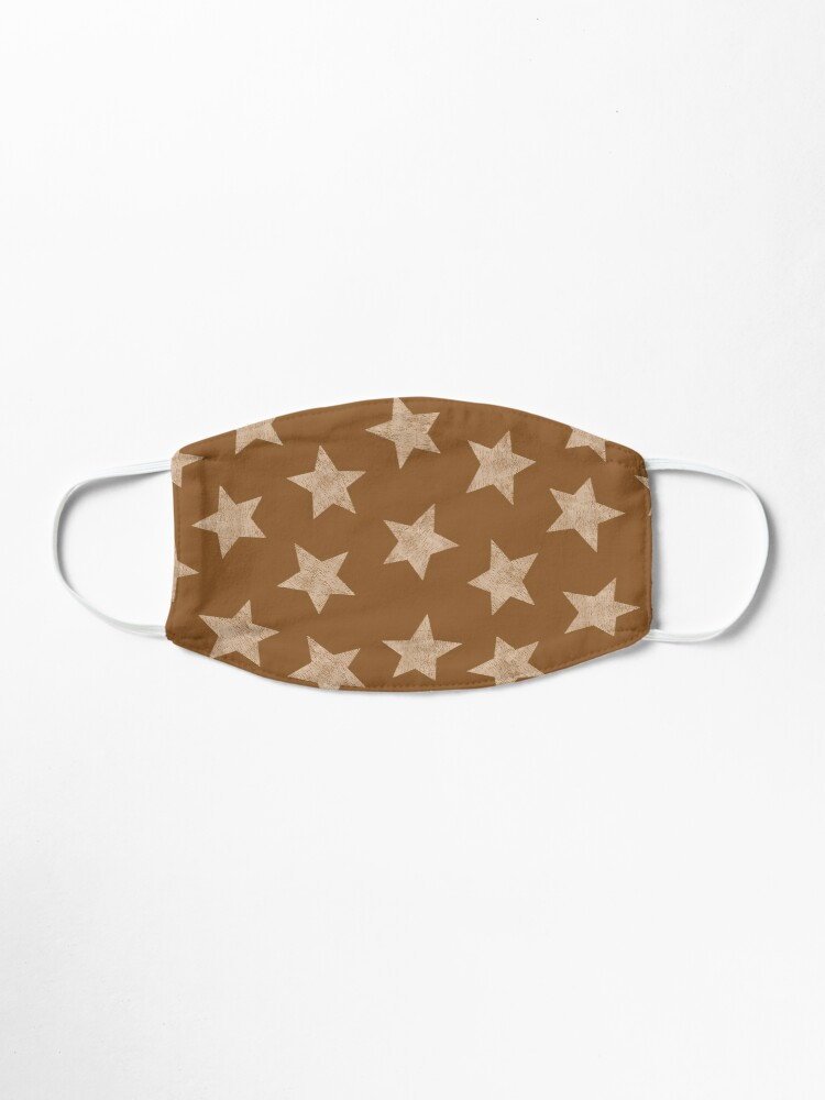 Alternate view of Starry brown Mask