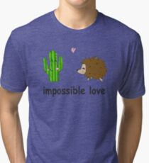 Impossible love Tri-blend T-Shirt
