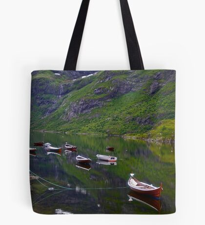 Conquest to Paradise. Visit Lofoten. Å  is one of Norway's most authentic traditional fishing villages. july 2012. by Andy Brown Sugar. Tote Bag
