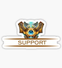 Support Badge Sticker