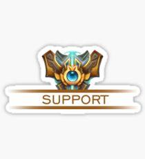 Support Badge Sticker