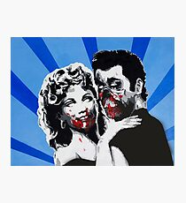 Grease Zombies  Photographic Print