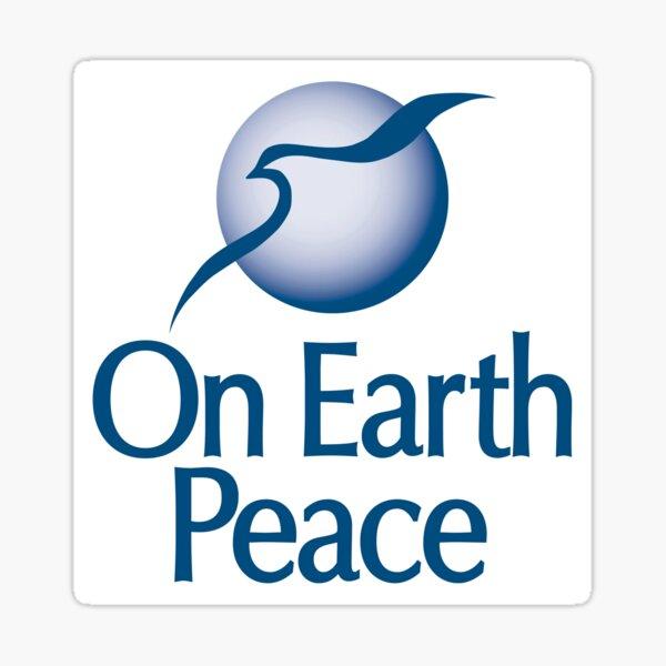 On Earth Peace Logo Sticker