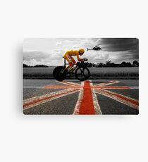 Bradley Wiggins, Tour de France Champion 2012 Canvas Print