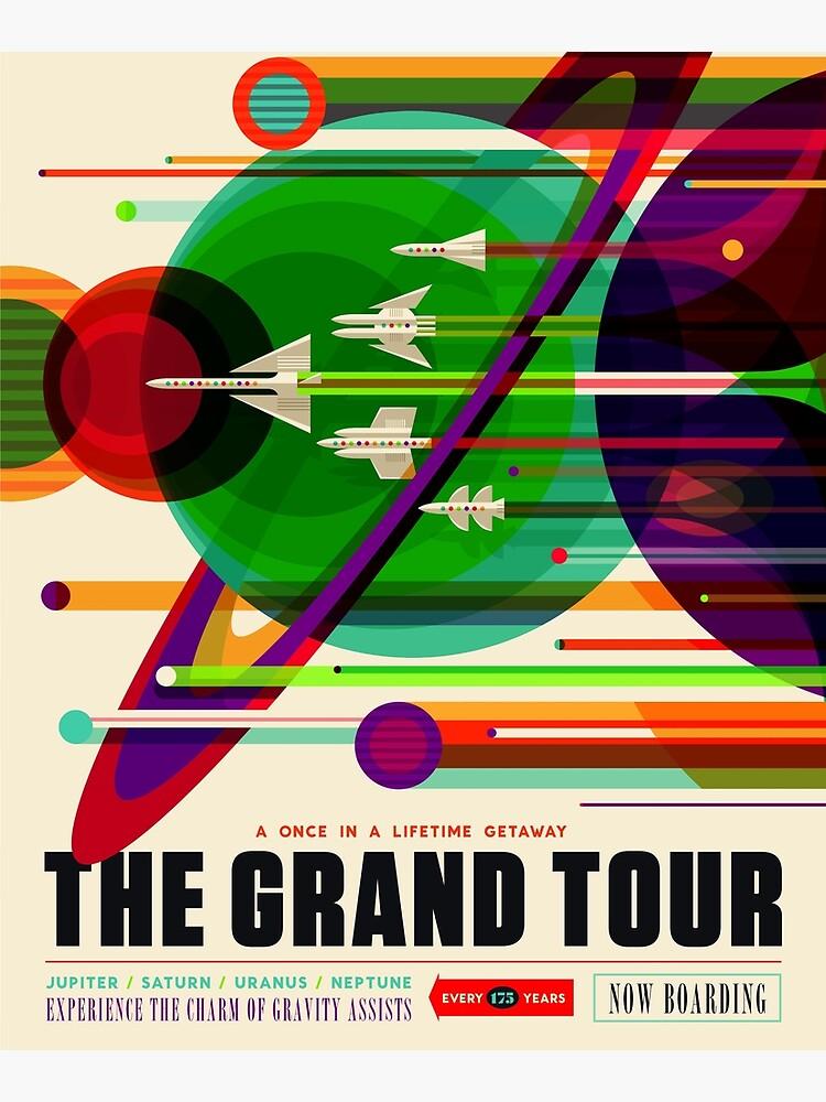 The Grand Tour - NASA/JPL Travel Poster by robertpartridge