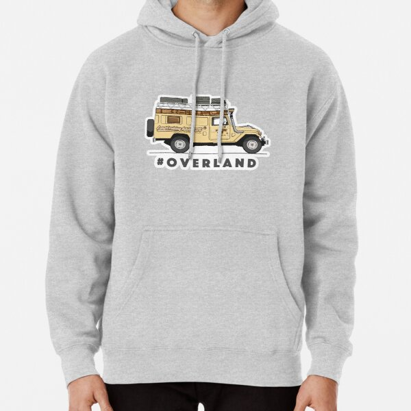 #OVERLAND Pullover Hoodie