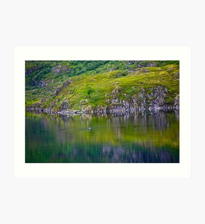 7 ★★★★★. My features Art that I LOVE!! Meravilioso Belvedere .  Å . Lofoten .Norway. july 2012. by Andy Brown Sugar. Featured Work !!! Islands , Islands , Islands . Art Print